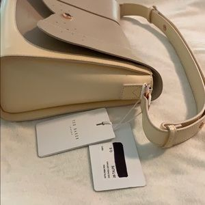 Ted Baker London Bags - Ted Baker NWT Leather Taupe Handbag